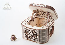 UGEARS Treasure box - Mechanical Wooden Model Kit 70031