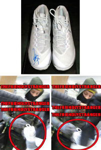 Rare STEPHEN CURRY signed UNDER ARMOUR UA CURRY 3 SHOES - EXACT PROOF Steph COA