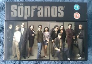 THE SOPRANOS..THE COMPLETE SERIES BOX-SET..4675 MINUTES..INCLUDES EPISODE GUIDE.