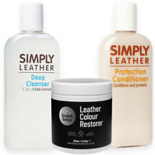 WHITE Leather Cleaner, Conditioner & Restorer for Sofa, Bags, Shoes, Jackets etc