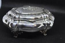 Portagioielli argento 800 vintage anni 60 nuovo