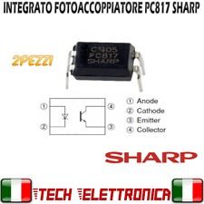 2 pz PC817 fotoaccoppiatore PC 817 optoisolatore DIP4 SHARP 100%