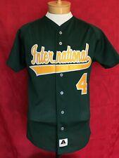 Vtg Fiu game baseball jersey #4 Florida international University Golden panthers