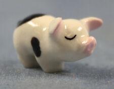 mini schwein tier porzellanfigur Porzellan figur hagen renaker 1