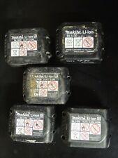 5 Pièces Makita Batterie Li-Ion 14,4 V 3 Ah  BL1430B coque complète Vide No ACCU