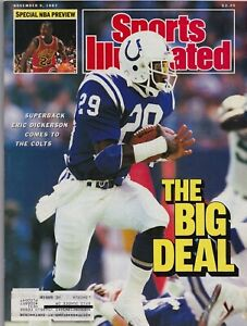 Eric Dickerson Indianapolis Colts Michael Jordan Sports Illustrated 11/9/87