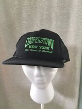 Cooperstown New York Home of Baseball Hall of Fame Snapback Trucker Hat Cap