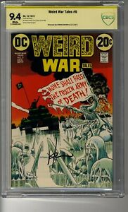 Weird War Tales (1971) # 9 - CBCS 9.4 White Pages - SS Howard Chaykin