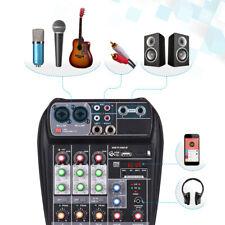 AI-4 Kompaktmischpult digitaler Audiomixer 4-Kanal 48V Phantomspeisung USB S1K1