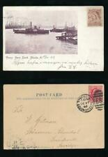 More details for gb 1902 penny ferry north shields ppc to sweden + tyne docks e89 duplex