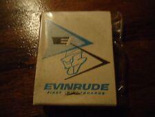 Vintage Evinrude Match Books Waterproof 2 Pack 5 Digit Phone # Alton, Illinois