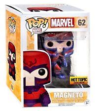 Funko Pop #62 Marvel Magneto Metallic Hot Topic Exclusive Pop - New!