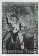 2006 Artbox Harry Potter and the Goblet of Fire Update Foil Puzzle #R1 Card 0a1