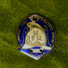 #D28. 1981 UNITED FIRE FIGHTERS UNION  MEMBER BADGE