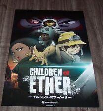 CHILDREN OF ETHER NYCC EXCLUSIVE PROMO POSTER NEW LeSean Thomas Anime Manga