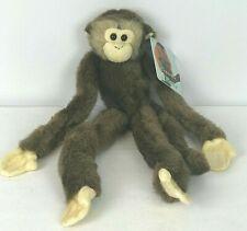 "Fiesta Brown Capuchin Monkey Long Legged Hanging stuffed animal plush 16"""