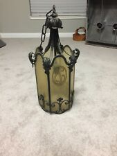Very Old Entry Lamp / Chandelier $ 279.00 Free Shipping
