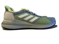 NWT Adidas Solar Blaze W Women's 7.5 Running Shoes Gray Yellow Sneakers Shoe
