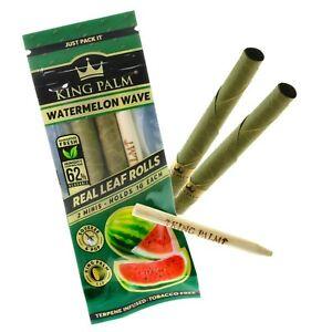 6X KING PALM WRAPS Watermelon Wave  Mini size 3 Packs FREE SHIPPING