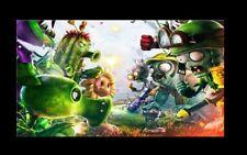 Plants Vs Zombies Garden Warfare Poster Wall Art Canvas, Movie Comic Home Decor