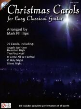 Villancicos De Navidad Para fácil Guitarra Clásica Aprende A Tocar La Etiqueta De La Música Libro & Cd