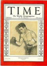 MAGAZINE TIME  max  shhmeling    june 24 1929