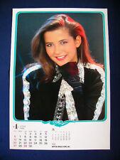 1986 Sophie Marceau Japan VINTAGE calendar POSTER VERY RARE