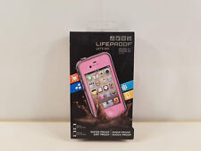Genuine LifeProof Apple iPhone 4 4s Case Water Dust Shock Proof 2nd Gen Pink