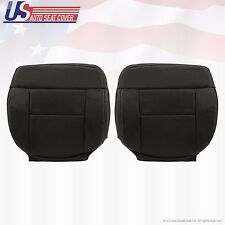 2004-2008 F-150 Lariat Driver/Passenger Bottom Perforated Leather Cover Black