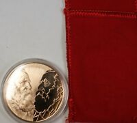 1878-1965 Martin Buber Bronze Proof Franklin Mint Medal Jewish Philosopher