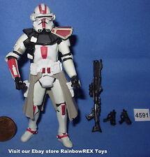 """Star Wars 2005 CLONE COMMANDER BATTLE GEAR ROTS 3.75"""" figure #5"""