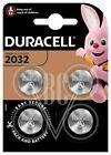 Duracell Knopfzellenbatterie 2032 CR2032 3V, 4er Pack