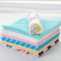 8pcs Baby Kids Boy Girl Soft Little baby handkerchief Bath Towel Washcloth