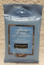 Neutrogena MAKE-UP REMOVER 7 Count Pre-Moistened Cleansing Towelettes Soft New
