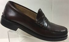 Johnston & Murphy Men's Aristocraft Brown Penny Loafer Dress Shoes 9.5 D