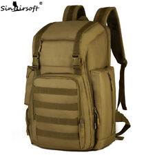 40L Military Tactical Backpack Laptop Bags Molle Hiking Assault Travel Trekking