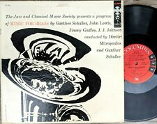 JAZZ & CLASSICAL LP: MUSIC FOR BRASS Miles Davis JJ Johnson COLUMBIA 6i DG 1B/1A