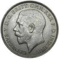 1922 FLORIN - GEORGE V BRITISH SILVER COIN - V NICE