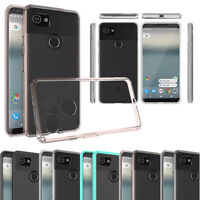 Hybrid Crystal Clear Protective TPU Case Shockproof Cover For Google Pixel 2/XL