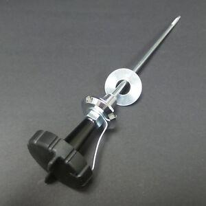 KAWASAKI 350 S2 - Molette d'amortisseur de direction complète (partie supérieure