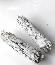 2 Bâtons de sauge blanche ,salvia apiana 30/35g,  pour purifier les lieux