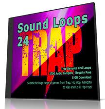 Sound Loops 24 Trap Collection 3700 WAV Loops Music Samples FL Studio MPC Logic