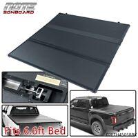 Hard Tri-Fold Tonneau Cover for 1988-2007 Silverado/Sierra 1500 6.6ft Bed