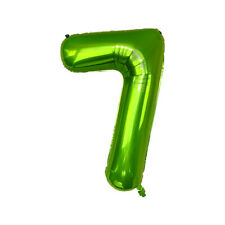 40 inch Green Number Foil Balloons Wedding Birthday Evening Party Decor 0-9