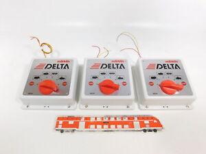 CJ429-2 #3x Märklin Delta-Digital H0/AC 6604 Control/Unidad de Control