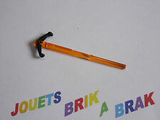 Lego projectile Bar 8L with Black Arrow End (Spring Shooter Dart) ref 19020c01