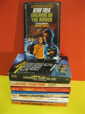 (7) vintage STAR TREK BOOK - NOVEL LOT ~ nice assemblage!
