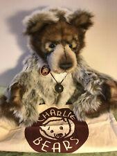 Charlie Bears 🦍'Grizzly ORIGINAL DIESEL' 🦍 Long Retired Original!