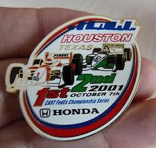 PIN'S COURSE USA F1 INDY CAR SERIES CART FEDEX HONDA HOUSTON TEXAS 2001 EGF MFS
