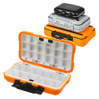 30 Compartments 2 Layer Waterproof Fishing Lure Bait Tackle Storage Box Case